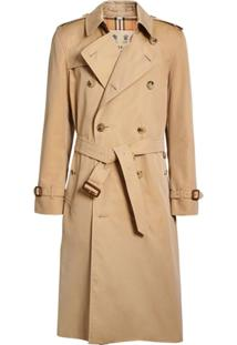 Burberry Trench Coat 'The Long Kensington' - Neutro
