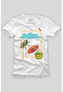Camiseta Reserva Tardezinha - Masculino-Branco