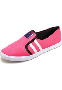 Tênis Casual Slip On Gts Pink