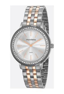 Relógio Feminino Strass Mondaine 53760Lpmvge2