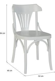 Cadeira De Jantar Opzione Branca