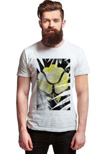Camiseta Estampada Joss Jay Jay Masculina - Masculino-Branco