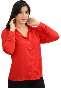 Camisa Energia Fashion Jazz Vermelho