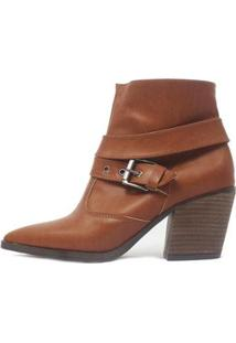 Bota Damannu Shoes Colbie Feminina - Feminino-Marrom