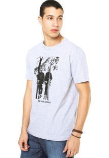 Camiseta West Coast Die With Style Cinza