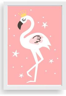 Quadro Love Decor Decorativo Infantil Flamingo