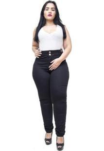 Calça Jeans Plus Size Credencial Reta Feminina - Feminino