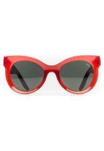 Óculos Feminino Acetato Violeta - Red