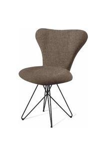 Cadeira Jacobsen Series 7 Chumbo Com Base Estrela Preta - 55925 Preto
