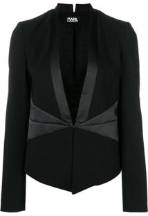 Karl Lagerfeld Blazer 'Ikonik' - Preto