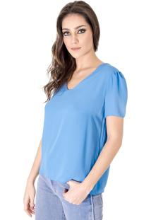 Blusa Alphorria A.Cult Chiffon Azul