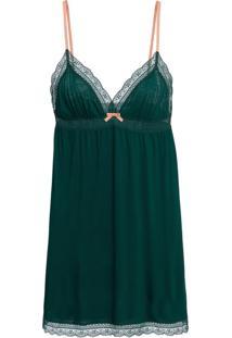 bc135b1ef Camisola Curta Sem Manga Modal Misty Verde Sálvia