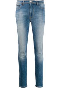Philipp Plein Calça Jeans Original - Azul