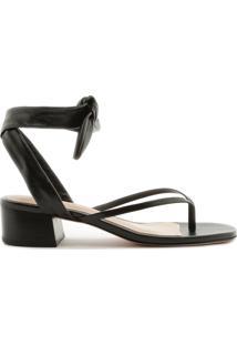 Sandália Flip-Flop Knot Black | Schutz