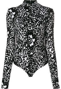 Versace Body Animal Print - Preto