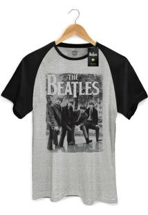 Camiseta Bandup Bandas The Beatles Hey What'S That Mescla