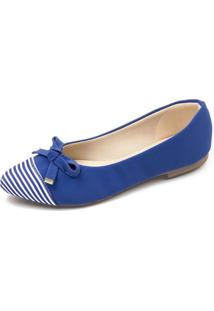 Sapatilha Azul Megachic - Azul - Feminino - Dafiti
