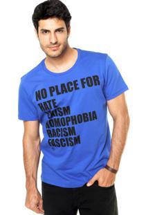 Camiseta Forum Reta Azul