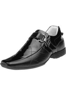 Sapato Social Alcalay - Masculino-Preto