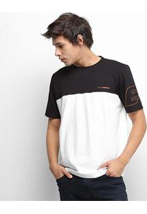 Camiseta Ellus Sport Dlx Masculina - Masculino-Branco