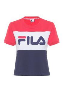 Camiseta Feminina Maya - Vermelho