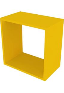 Nicho Quadrado Cubo I Amarelo