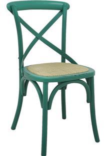 Cadeira De Madeira Katrina -Rivatti - Verde