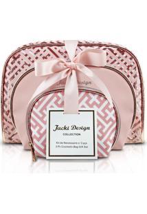 Necessaire Jacki Design Necessaire Rosa