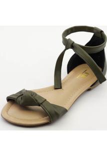 Sandália Btr Fashion Nó Verde