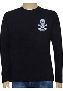 Camiseta Masc Cavalera Clothing 01.02.0711 Preto