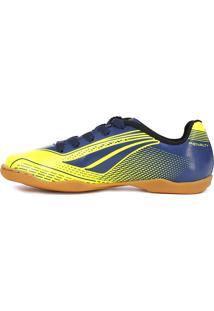 Tênis Futsal Penalty Storm Speed Azul Marinho/Amarelo