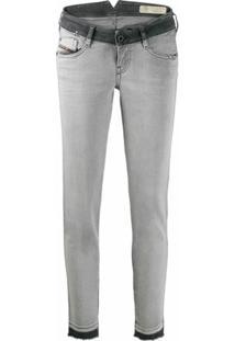 Diesel Calça Jeans Skinny D-Ramy - Cinza