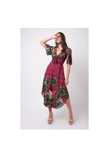 Vestido Mercatto Vestido Vinho