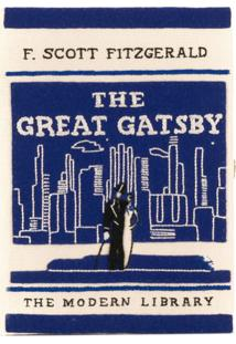 Olympia Le-Tan Clutch 'The Great Gatsby' - Branco