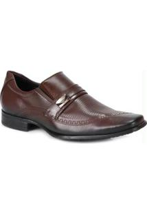 Sapato Social Masculino Mariner Marrom