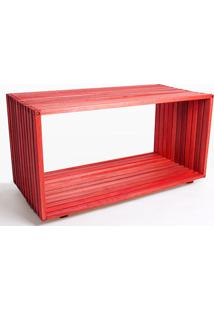 Módulo Dominoes 90 X 45 Vermelho Mão E Formão