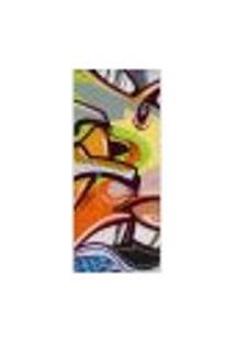 Adesivo Decorativo De Porta - Grafite - 058Pt-P Auto Colante