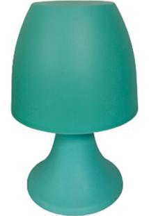 Abajur Le Color Plástico Bivolt Verde