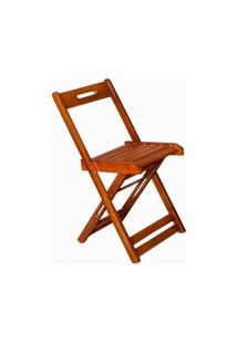 Cadeira Dobrável Madeira Avulsa Mel - Btb Móveis