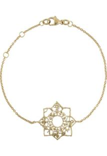 Natalie Perry Pulseira Mandala De Ouro 9K - Dourado