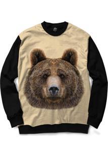 Blusa Bsc Bear Full Print - Masculino