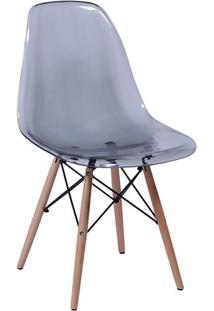 Cadeira Eames Dkr- Cinza & Bege Escuro- 80,5X46,5X42Or Design