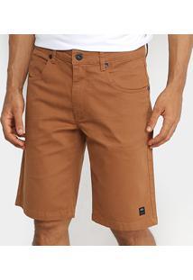 Bermuda Oakley De Passeio Mod 5 Pockets 2 Masculina - Masculino-Marrom