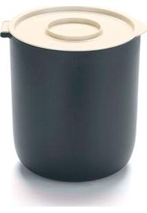 Lixeira Para Pia 3,5 Litros Black E White By Arthi