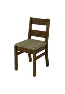 Cadeira Macica Preto Amarelo Chenille Liso 4714 Amarelo