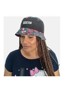 Chapéu Bucket Hats Black Bird Thb 755Fl
