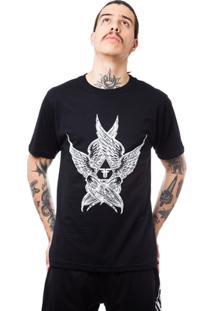 Camiseta Fallen Angel Wings - Masculino