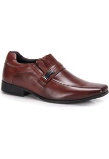 Sapato Conforto Masculino Rafarillo Duo Dress - Castanho
