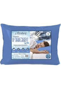 Travesseiro Fresh Ice- Azul- 10X70X48Cmaltenburg