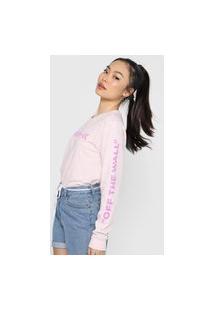 Camiseta Vans Mixed Up Fun Rosa